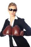 Starke Geschäftsfrau Stockfoto