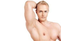Starke Muskeln Stockfoto