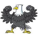 Starker Adler Stockbild
