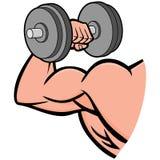 Starker Arm stock abbildung