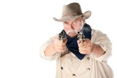 Starker Cowboy lizenzfreie stockbilder