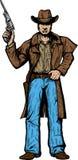 Starker Cowboy. Lizenzfreies Stockbild