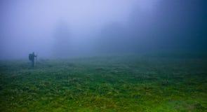 Starker Nebel Stockfoto