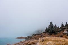 Starker Nebel Lizenzfreies Stockfoto