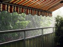 Starker Regen Stockfotografie