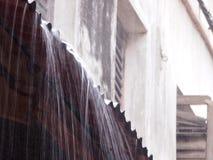 Starker Regen Stockbild