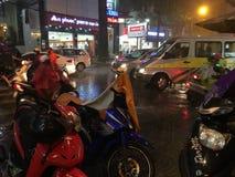 Starker Regen Stockfotos