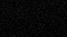 Starker Regen, der vor der Kamera fällt Foto realistisches cgi-Element, Animation 4K stock footage