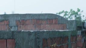 Starker Regen und extremes Wetter stock footage