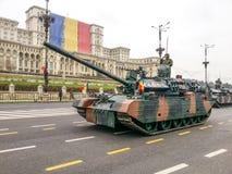 Starker rumänischer Behälter Stockfotos