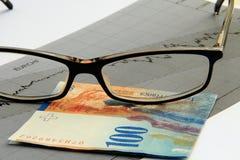 Starker Schweizer Franc stockbilder