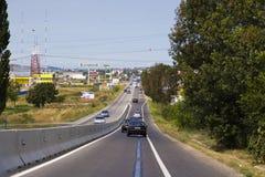 Starker Verkehr Lizenzfreies Stockfoto