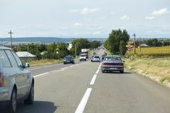 Starker Verkehr Stockfoto