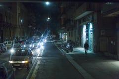 Starker Verkehr in Catania-Stadt lizenzfreie stockbilder