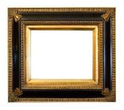 Alte Antike vergoldete Bilderrahmen Lizenzfreie Stockfotografie