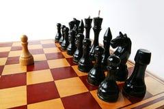 Starkes einzelnes Schach Lizenzfreie Stockbilder