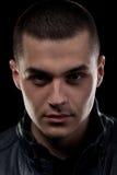 Starkes Gesichtsportrait Stockfoto