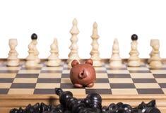 Starkes piggy Stockfoto