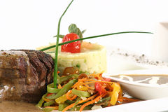 Starkes Steak lizenzfreies stockfoto