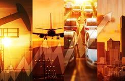 Starkes Wirtschafts-Konzept Lizenzfreies Stockbild