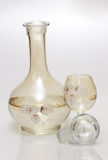 starksprit för flaskexponeringsglas Arkivfoton