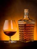starksprit för flaskexponeringsglas royaltyfri foto