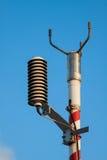 Starkstromanlage für Offshoreanlage, das System sollte sein installieren die Erde, die für Unterstützung die Starkstromanlage und  Lizenzfreies Stockfoto