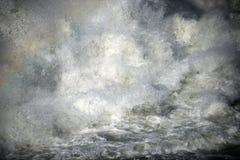 Starkt flödande vatten för abstrakt bild Royaltyfri Bild