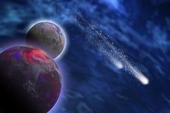 starlettes cosmiques Photo libre de droits