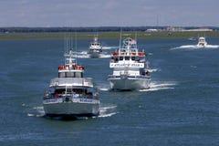 Starlight, Atlantyk sekwensu statusu łódź w Wildwood, Obrazy Stock