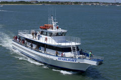 Starlight Charter Fishing Boat in Wildwood, New Jersey Royalty Free Stock Image