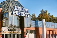 Starlight Express Theater Bochum. Bochum, Germany - October 11, 2015: Starlight Express Musical Theater in Bochum Royalty Free Stock Photo