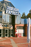 Starlight Express Theater Bochum. Bochum, Germany - October 11, 2015: Stage of the famous Starlight Express Musical  in Bochum Royalty Free Stock Photo