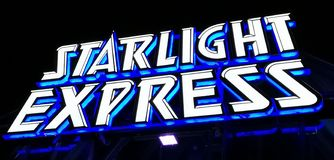Starlight expriment images stock