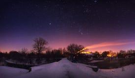 Starlight night Stock Photography