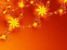 Starlike bloemen Stock Afbeeldingen