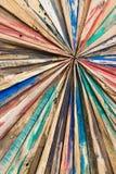 Starlike drewno deski Malujący i grinded tekstury tło Obrazy Stock
