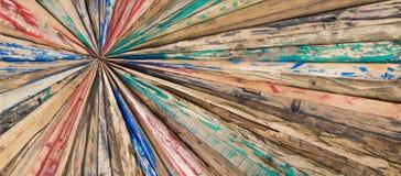 Starlike hölzerne Planken Gemalter und grinded Beschaffenheitshintergrund Lizenzfreie Stockfotografie