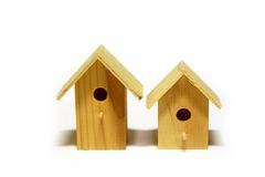 Starling-houses Royalty Free Stock Photography
