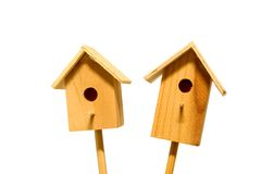 Starling-houses Royalty Free Stock Images