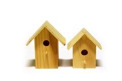 Starling-maisons Photographie stock libre de droits