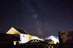 Starlit sky 1 Stock Image