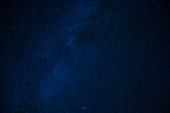 Starlit sky. With the milky way Stock Photography