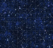 Starmap stars and outer space Stock Image