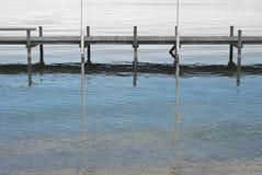 starnberg озера стыковки шлюпки Стоковое Изображение RF