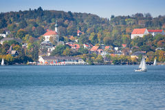 Starnberg at autumn Royalty Free Stock Images