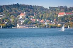 Starnberg en el otoño Imágenes de archivo libres de regalías