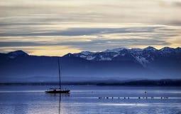 Starnberg lake Royalty Free Stock Photography