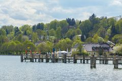Starnberger See lake side stock image
