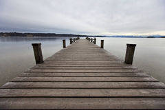 Starnberger湖在费尔达芬格 德国 巴伐利亚人 库存图片